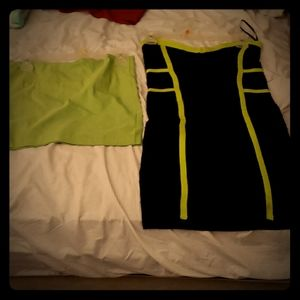 Dress and skirt, both size large